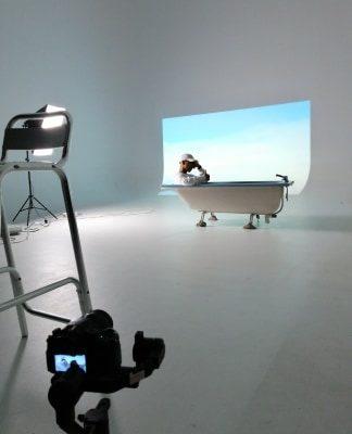 Studio fond blanc motion studio